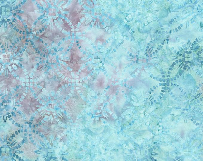 Tonga Batik - Aqua - Jade Collection by Judy and Judel Niemeyer - Batik - Wedding Ring Batik - Sold by the Yard