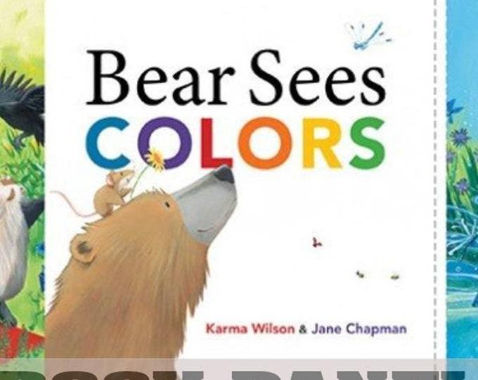 Elizabeth Studio - Bear Sees Color - Book -  Panel - Sold by Panel