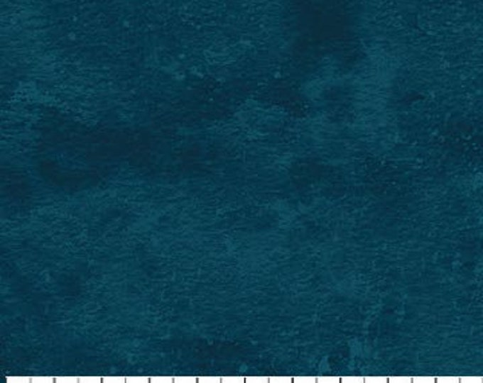 Northcott - Toscana - Solidish - Teal - 9020-620- Solid  - Textured Solid -  Looks like Suede - Feels like Silk -  Sold by the Yard