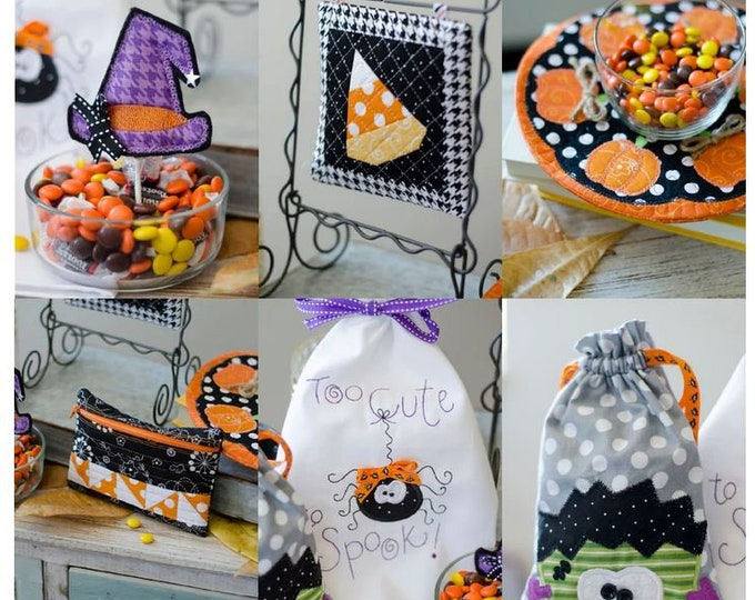 Kimberbell-Too Cute to Spook-Virtual Event-Sep 12 & 13 2021-Machine Embroidery Event-2 Day Virtual Event-Class from the Comfort of your HOME