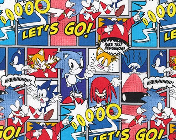Robert Kaufman - Sonic the Hedgehog - Comic Strip - Gray - Sonic - AXX-74447-12 -  Sold by Yard