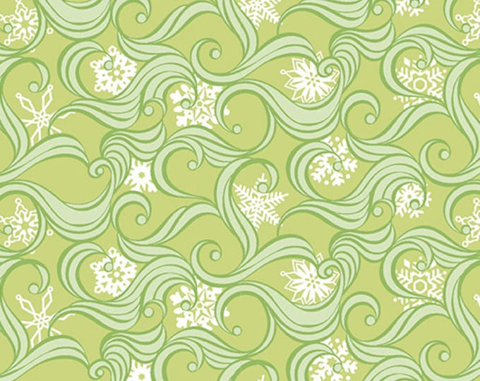 Contempo - Nordic Holiday - Snow Swirl  - 1883-04 - Fabric by the Yard