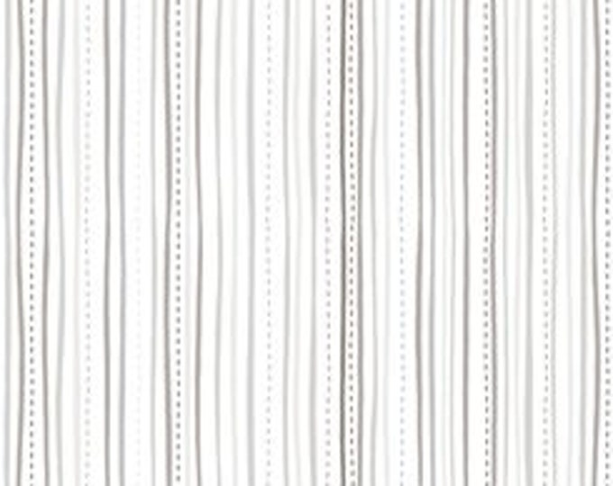 Quilting Treasures - Sweet Caroline - Stripe - Stripe Fabric -  Gray - 26990 -Z -  Sold by the Yard