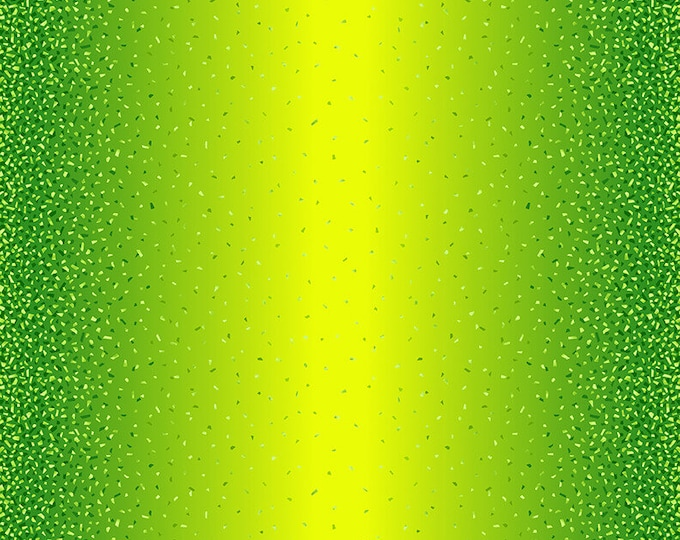 Studio E - Snippets - Pearlescent  Ombre   -  Pearl - 5086-64P - Lemon Lime  - Green - Sold by the Yard