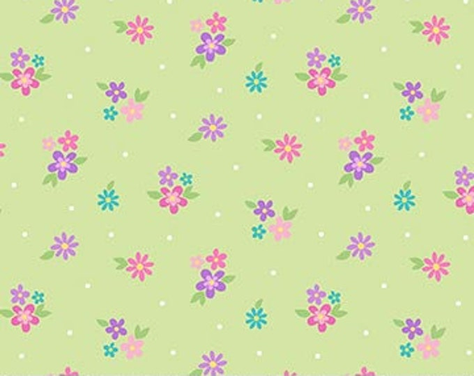 Northcott - Dreamland - Flower Toss  - 24317 - Multi - Sold by the Yard