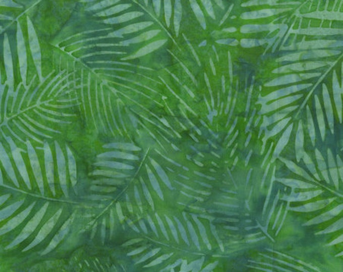 Anthology - Batik - Quilt Essentials  - Botanicals - 402Q-3  - Sold by the Yard