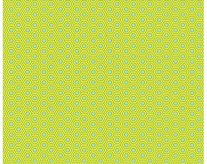 Free Spirit Fabric - Tula Pink - True Color - Hexy - Chameleon  -  PWTP150.Chameleon -  Sold by the Yard