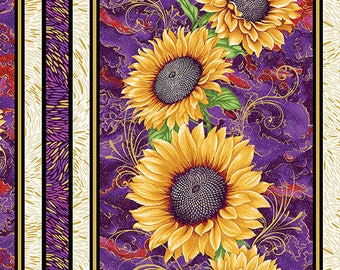 Benartex - Here comes The Sun - Sunflower -  2971-66 - Sold by the Yard