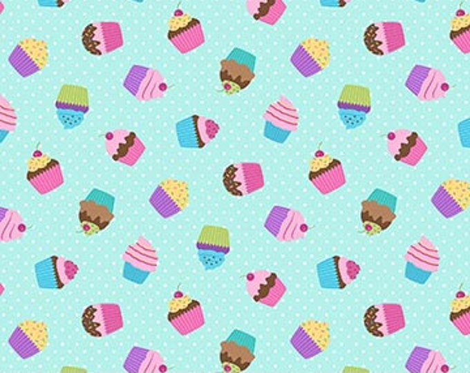 Northcott - Dreamland - Cupcakes - 24314 - Multi - Sold by the Yard