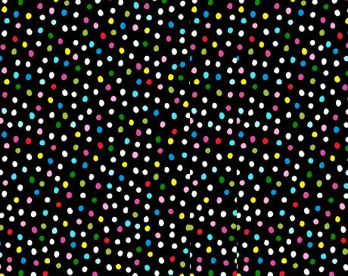 Quilting Treasures - Sew Sassy - Sewing Ladies - Dots - Black - 26788J - Sold by the Yard