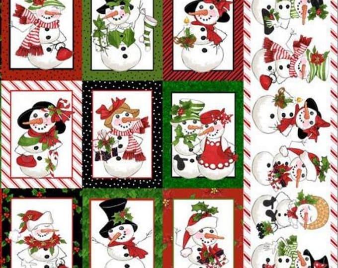 Loralie Design - Snow Ladies - White Panel - 692-399 -  Panel - Sold by Panel