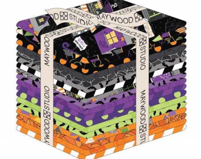 Kimberbell - Hometown Halloween - Fat Quarter Pack - Fall - Fat Quarter - 18x21  - 19 Fat Quarters per pack - Sold by the Fat Quarter Pack