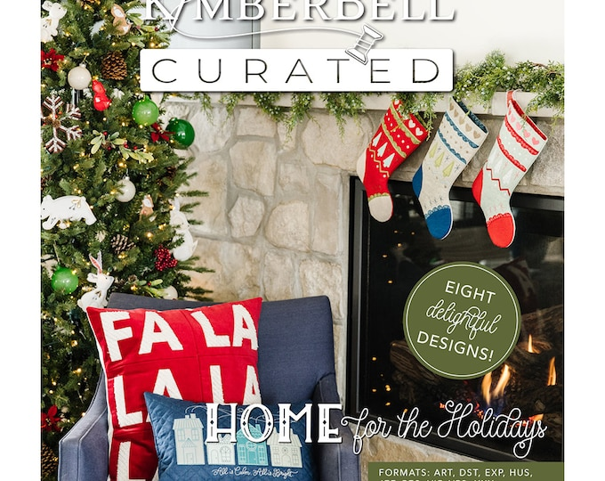 New Kimberbell - Home for the Holidays - USB - Kimberbell Curated -  Christmas - Sold by the USB - Free Shipping