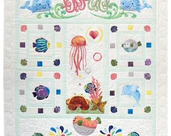 Quilt Fusion - Wee Sea - Applique Quilt Pattern