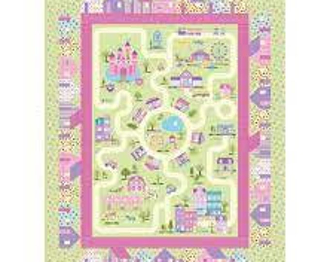 Northcott - Dreamland - Dream Village - Quilt Pattern - Paper Pattern - PTN2811  - Sold by the Pattern