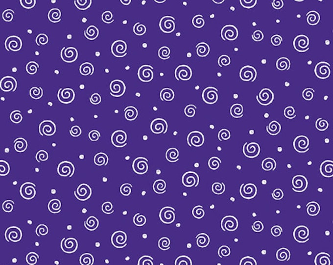 Benartex - Swirl Glow  - Purple - 8920GL66B  - Sold by the Yard