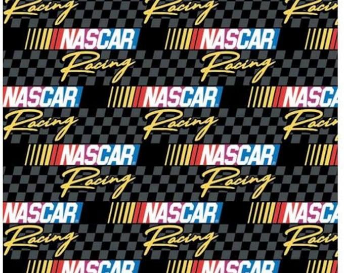 Camelot - Nascar - Retro Nascar - Retro Racing  - Checkered Flag - Grey - Gray - 39190107-03 - Sold by the Yard