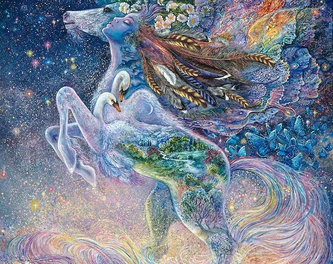 3 Wishes - Three Wishes - Celestial Journey - Panel - Unicorn Panel - Unicorn -  17138 - Sold by Panel