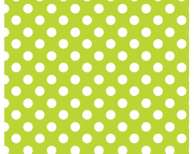 NEW - Camelot - Mixology - Dots - 21005-0036  - Lime  - Sold by the Yard