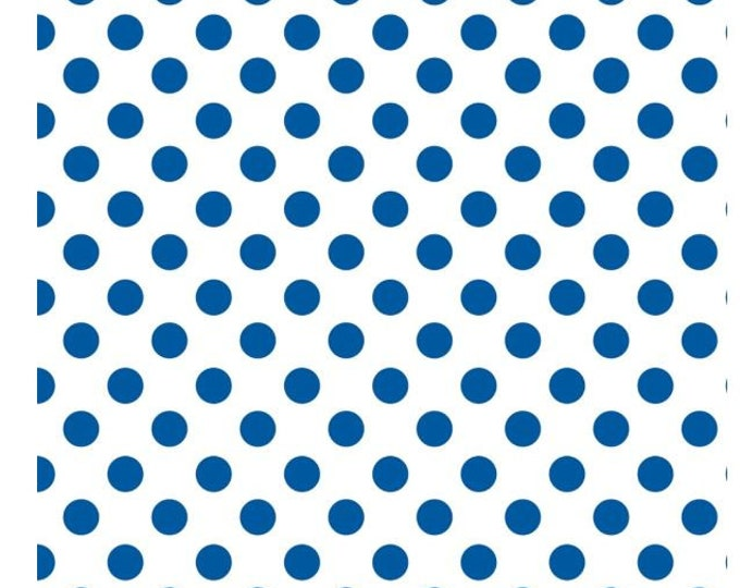 NEW - Camelot - Mixology - Dots - 21005-0016  - Royal - Sold by the Yard