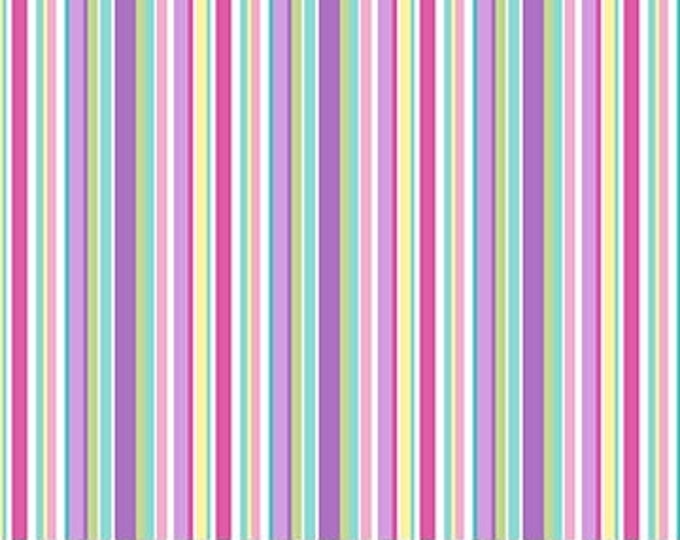 Northcott - Dreamland - Barcode Stripe  - 24319 - Multi - Sold by the Yard