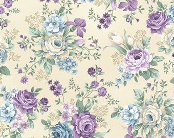 Henry Glass - Twilight Gardening - 8873-44 - Sold by the yard