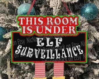 Elf Surveillance Hanger For This Room