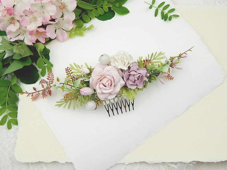 Combs Headpiece Hair adornment Flowers comb Comb roses Bridal Adornment Hair Comb Bridal Headpiece Wedding Hair accessory