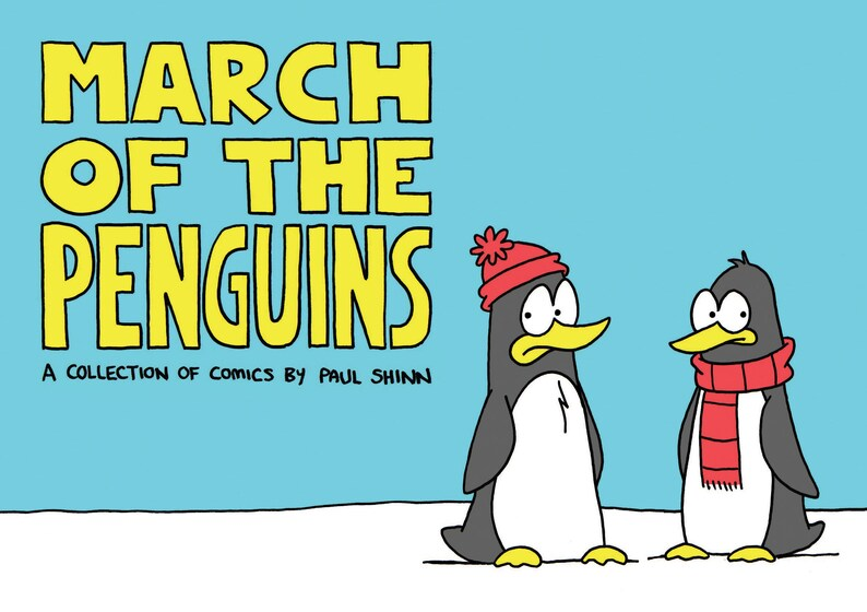 March Of The Penguins comic image 0