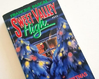 Sweet Valley High, A Deadly Christmas, Francine Pascal, 1994, paperback, #111