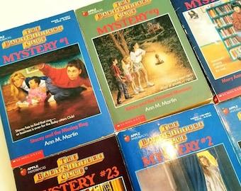 Babysitters Club, Mysteries, You Choose, Ann M Martin, paperback, nineties nostalgia