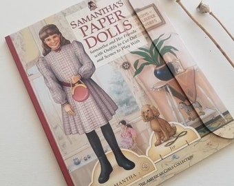 American Girl, Samantha, Paperdolls, Doll Books, Pleasant Company,
