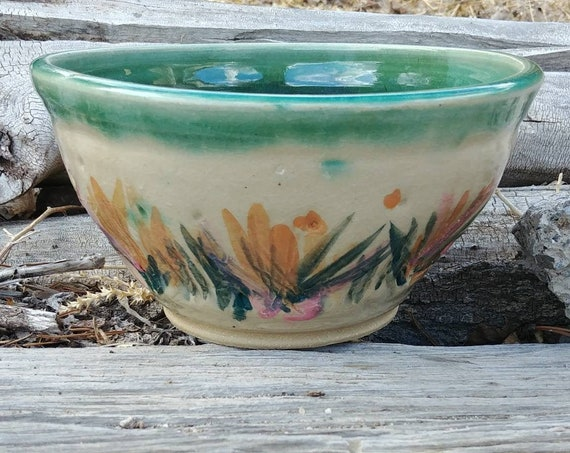 Spring Pottery Bowl
