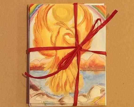 Phoenix Note Cards