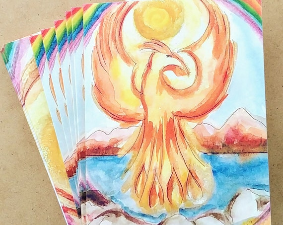 Phoenix Note Cards