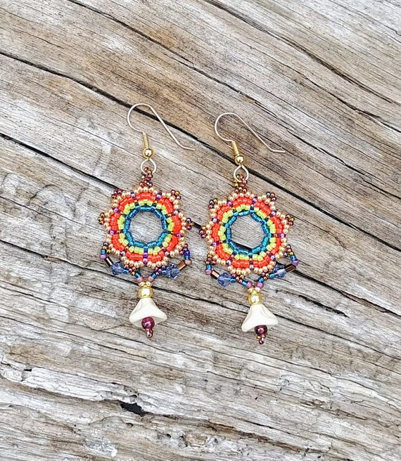 Kaleidoscope of Color Earrings