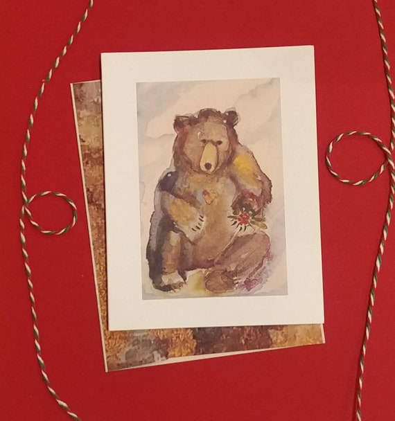 Sharing Bear, card pack