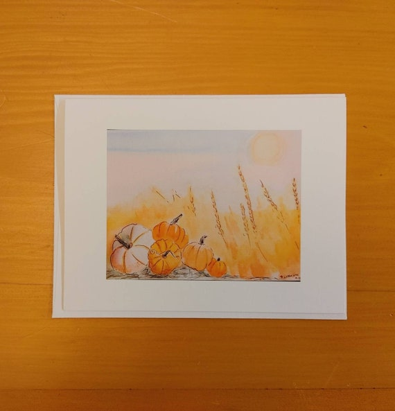 Note Cards, Autumn Light