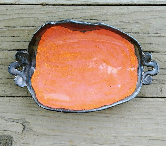 Pottery Serving Plate