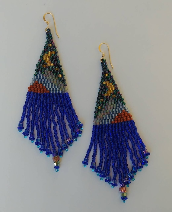 Moon Over the Mountain Earrings
