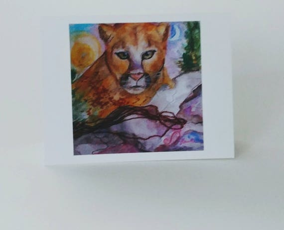 Mountain Lion Arts Note Cards