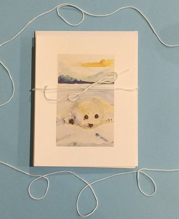 Baby Seal cards