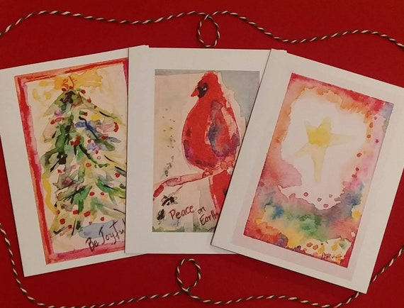 Christmas Cards, 3 Design Pack