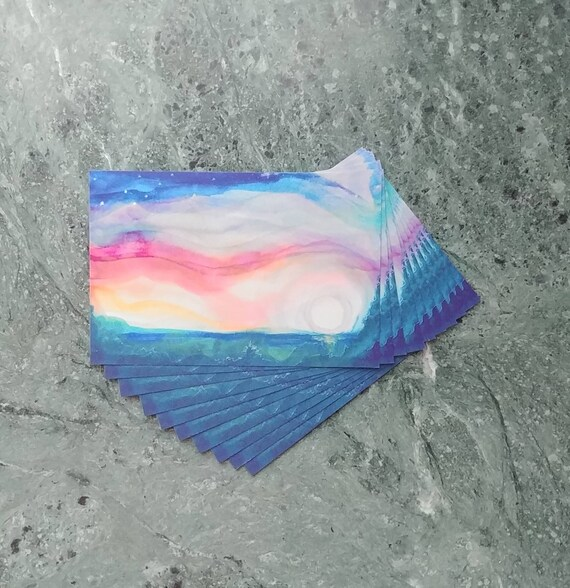 Postcard, Moonlight Dancing