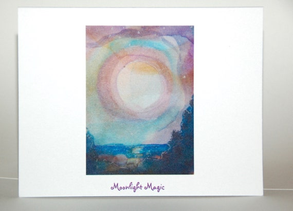 Moonlight Magic, note cards