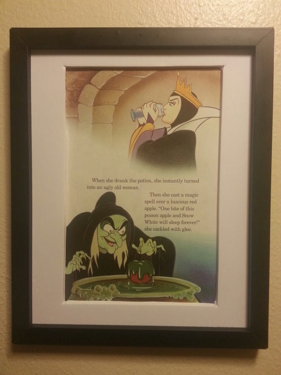 Items similar to The Wicked Queen Makes Her Poison Apple