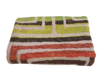 Fresco Towels - Spiral Taupe - Bath Towel