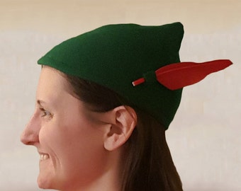 09bf572738a Peter Pan or Elven Style Hat