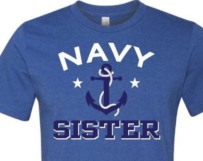 Navy Sister - T-Shirt