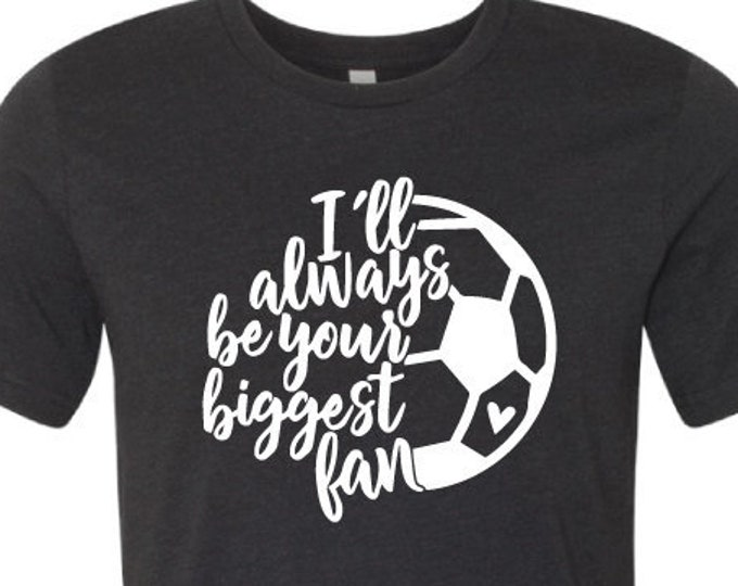 Your biggest fan- Soccer- Mom - T-Shirt